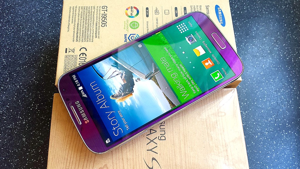 how to set up voicemail samsung galaxy s4