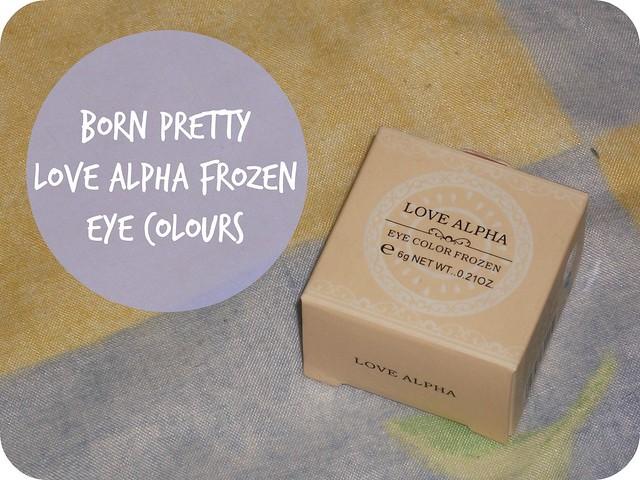 Born Pretty Love Alpha Frozen Eye Colour