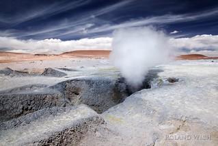 Altiplano - Geyser Field Sol de Mañana