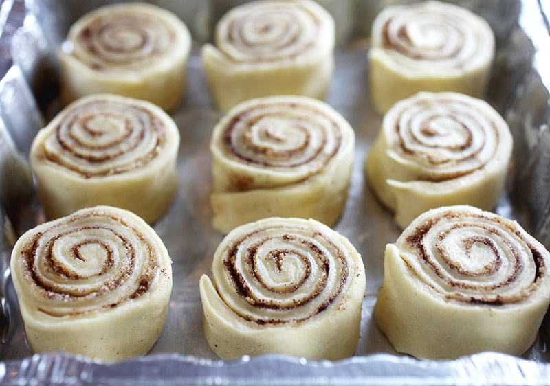 Cinnamon Roll Slices
