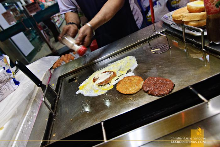 Ramly Burger at Chinatown Kuala Lumpur