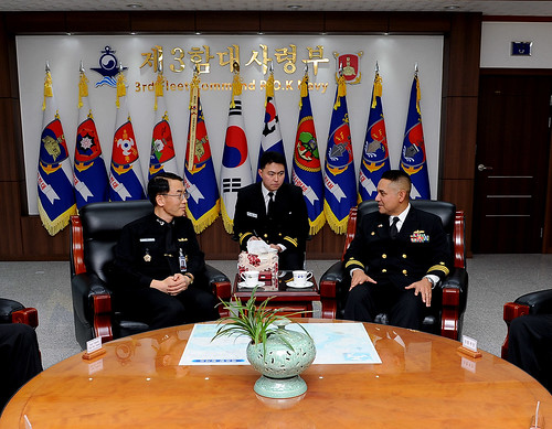 USS Mustin Visits Pyeongtaek to Enhance Partnerships with Korean Navy