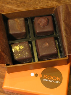 Box of Sook Chocolates