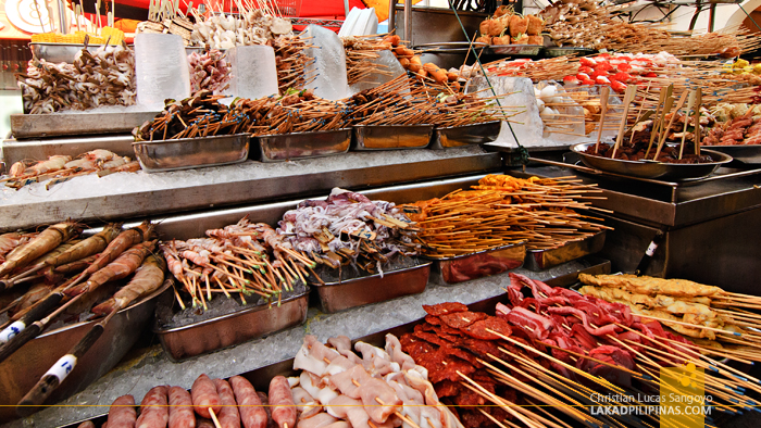 Barbecue Stall at Chinatown Kuala Lumpur