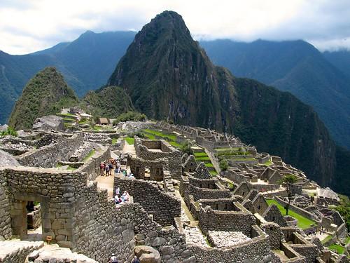 Machu Picchu de cerca