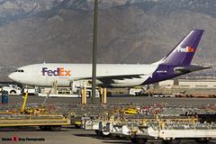 N808FD - 439 - FedEx - Airbus A310-323F - Albuquerque, New Mexico - 141229 - Steven Gray - IMG_1408