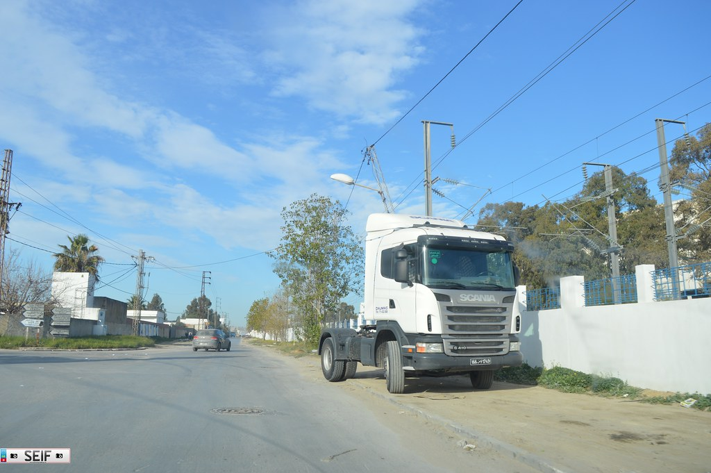 Scania G410 Tunisia 2015
