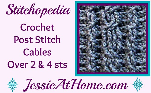 Stitchopedia-Crochet-Post-Stitch-Cables