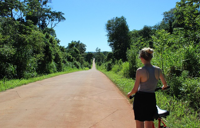iguazu by bike