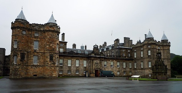 front of hollyrood