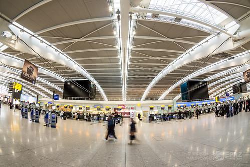 Terminal 5 - departure level