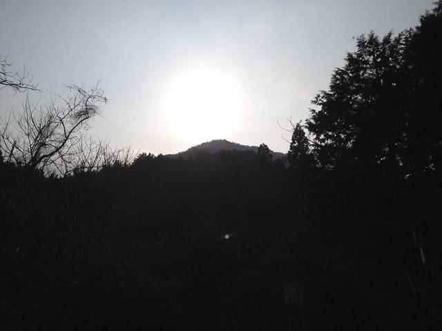 志津山 東海自然歩道から