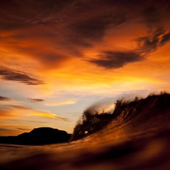 The timeless beauty of a #Lobitos sunset... Shot during the filming of #CAPTURE:AWAVESdocumentary  Photo: @mattp.aul