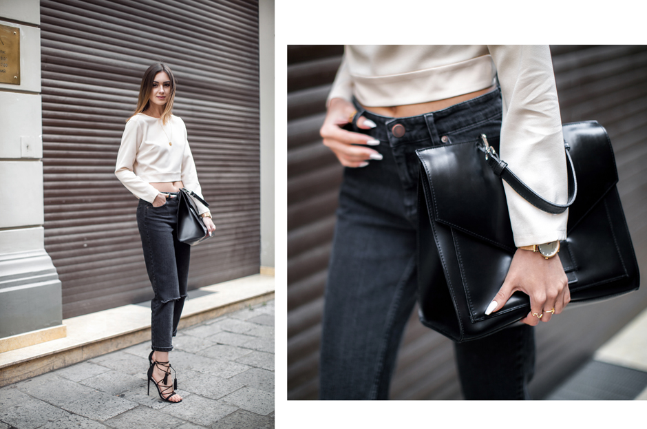 cropped-top-mom-jeans-black-boyfriend-outfit-street-style-lace-up-heels