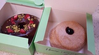 The Vegan Fox and Blue Ivy from Doughnut Time