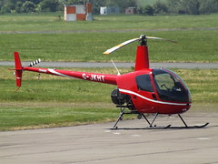 G-JKHT Robinson R-22 Helicopter