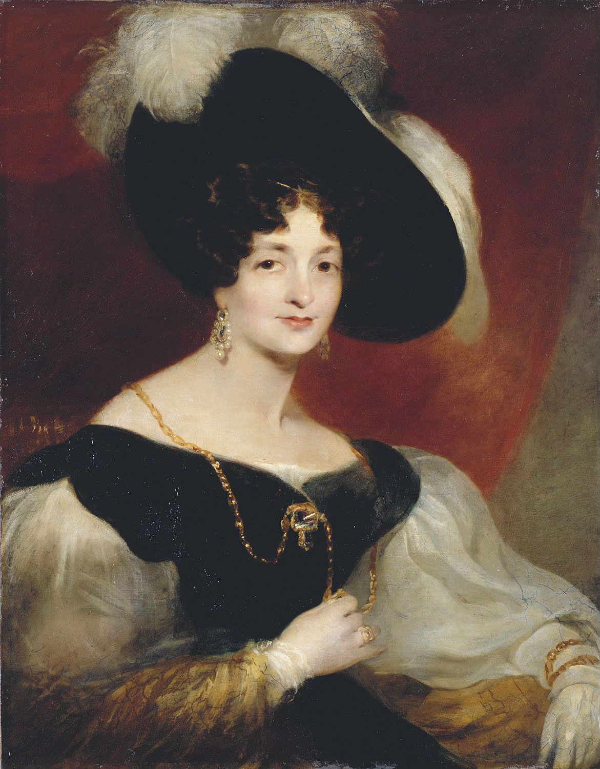 Portrait of Victoria, Duchess of Kent by Richard Rothwell, 1832