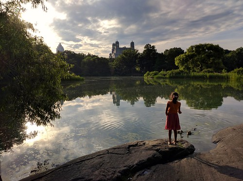 Belvedere Lake, Central Park, NYC