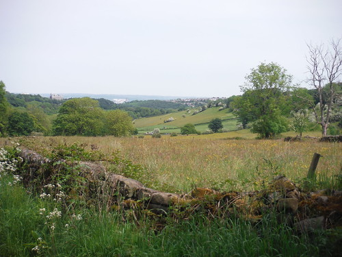 Backview to Sheffield from near top of Porter Valley