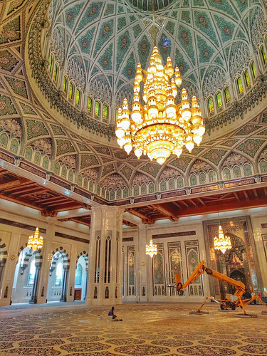 Sultan Qaboos Mosque interior