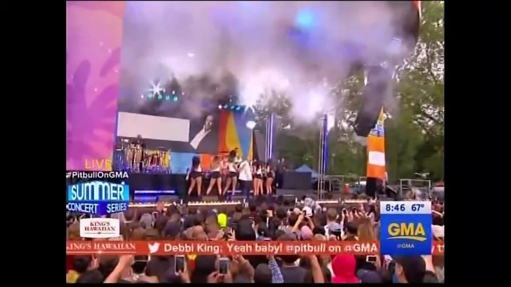Pitbull on GMA (PART 3)