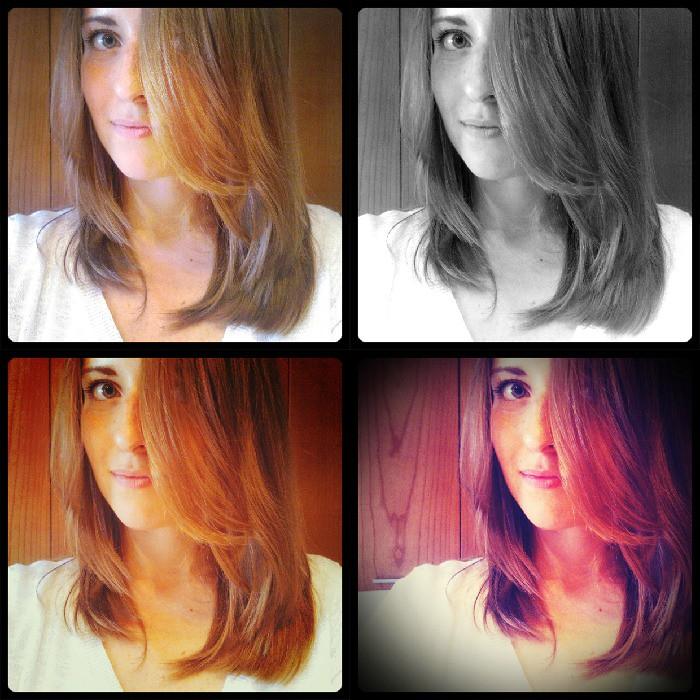 PicMonkey Collage new hair