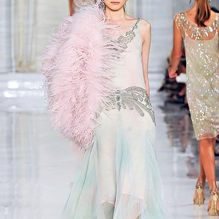 """Great Gatsby"" Inspired Couture #GreatGatsby #trend #inspiration #film"