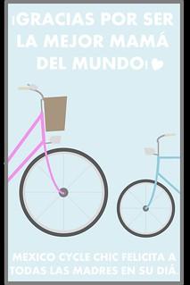 MEXICO CYCLE CHIC DIA DE LAS MADRES 2013
