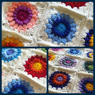 Winter Garden Baby Blanket
