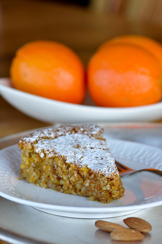 A Gluten Free Orange Almond Cake from Buttercream Lane and Factwoman