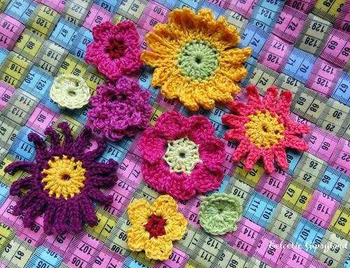 Fleurs crochet
