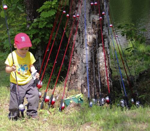 Fishing Day at Wildcat Mountain, N.H.