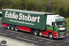 Volvo FH 6x2 Tractor - PX11 BXB - Magda - Eddie Stobart - M1 J10 Luton - Steven Gray - IMG_8797