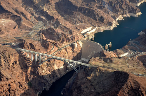 arizona wonder landscape view dam nevada aerial structure coloradoriver hoover nikond7000