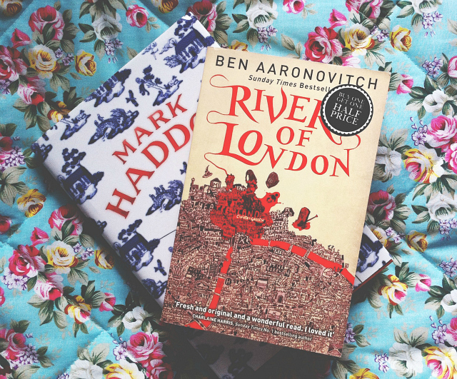 3 books uk lifestyle blog vivatramp aaronovitch haddon reviews