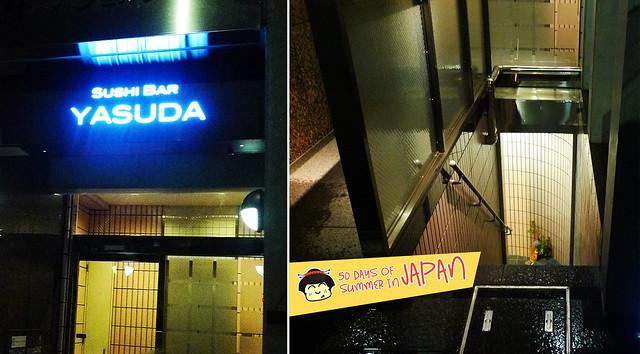 Sushi Bar YASUDA in Tokyo