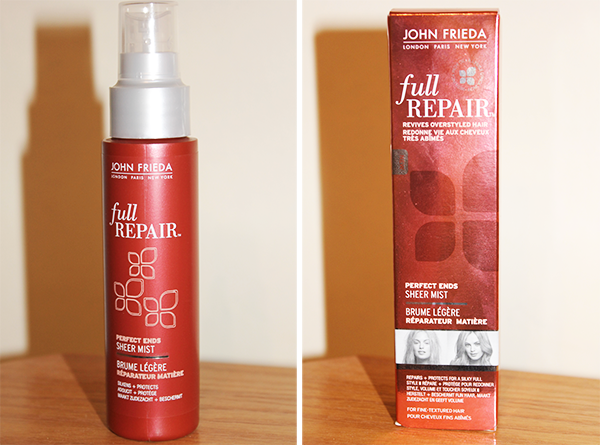 John Frieda Full Repair Perfect Ends Sheer Mist