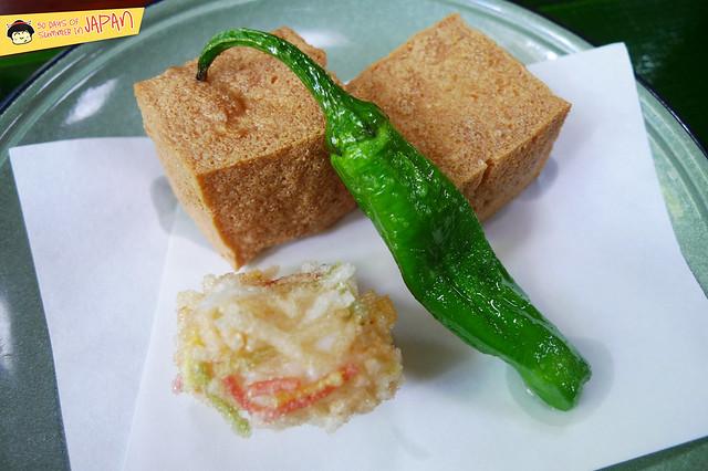 SASANOYUKI - tofu restaurant - kinuage - fried tofu