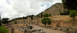 Δελφοί képe. delphi greece