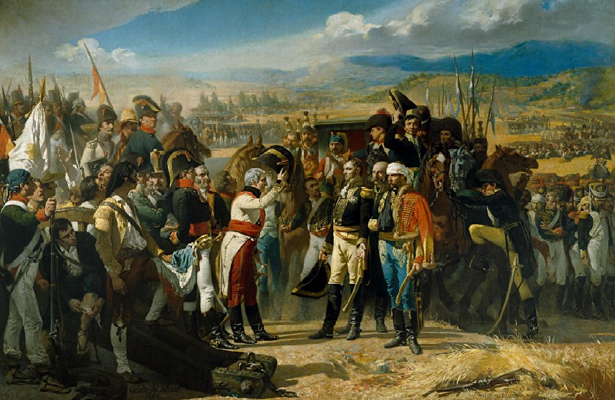 La rendición de Bailén. Obra de José Casado del Alisal. 1864