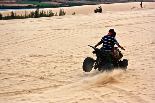 To answer your question… no they didn't flip the 4 wheeler