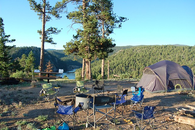 Campsite - Camping and Boating, Gross Reservoir, CO