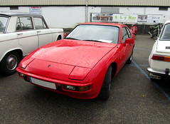 porsche 914(0.0), automobile(1.0), automotive exterior(1.0), vehicle(1.0), performance car(1.0), porsche 944(1.0), antique car(1.0), classic car(1.0), land vehicle(1.0), sports car(1.0),