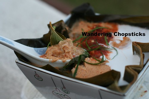 Amok Talae (Cambodian Steamed Seafood Curry) 11