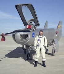 NASA Research Pilot John A. Manke and M2-F3 Liftin…