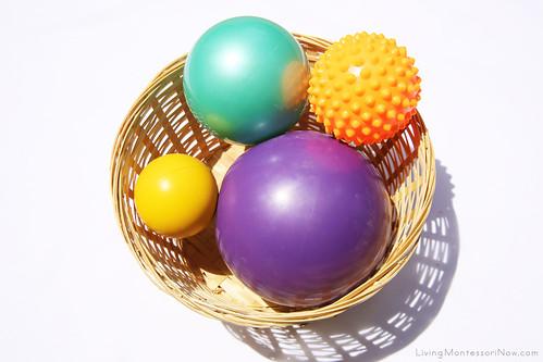 Basket for Ball Exercises