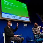 When Peter Hook met Ian Rankin | Massive music fan Ian Rankin had fun interviewing music legend Peter Hook.