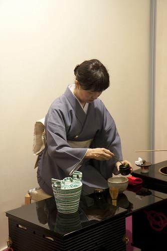 Cérémonie du thé à la Japan Expo 2013