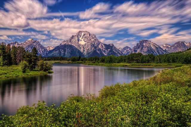The Snake Winds at Oxbow Bend