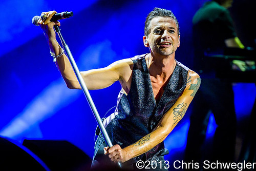 Depeche Mode – 08-22-13 – Delta Machine Tour 2013, DTE Energy Music Theatre, Clarkston, MI